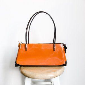 Beijo Patent Leather Uptown Shoulder Bag